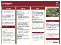 calvin college instructional graphics services research poster