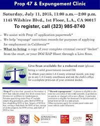 Expunge Criminal Record California Prop 47 Expungement Clinic Asian Americans Advancing Justice La