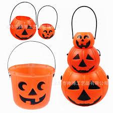 halloween garlands 2017 halloween pumpkin bucket halloween candy bucket portable