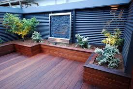 Backyard Corner Ideas Corner Backyard Deck Ideas Jbeedesigns Outdoor Cozy And
