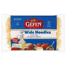 gefen noodles gefen passover wide noodles 255g from ocado