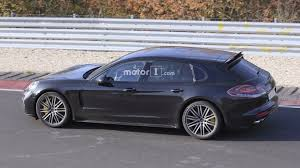 Porsche Panamera Sport - 2018 porsche panamera sport turismo wagons its tail