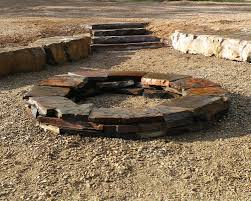 Fire Pit Kits by Custom Cut Eagle Mountain Slate Firepit Kits Blueslate Woodstone