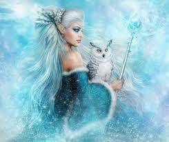 elf queen the spirit of winter by alenaekaterinburg on deviantart