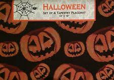 unbranded halloween placemats ebay