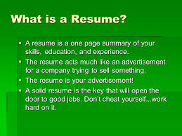 education for a resume high student resume u0027 ppt download