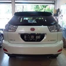 lexus indonesia bekas mobil bekas toyota harrier 2 4 l premium 12 at
