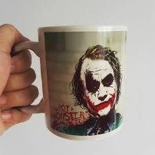 Coffee Magic newest design joker magic color changing coffee mug heat sensitive