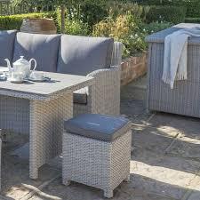Kettler Garden Furniture Kettler Large Cushion Box Whitewash Charlies Direct