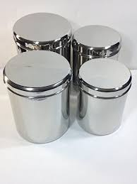 stainless steel kitchen canisters sets kitchen canister sets stainless steel coryc me