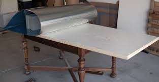 Work Table With Stainless Steel Top 49 by Zinc Table Tutorial Unexpected Elegance