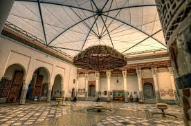 courtyards of morocco