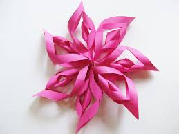how to make a paper starburst decoration