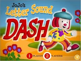 jojos letter sound dash game to14 play