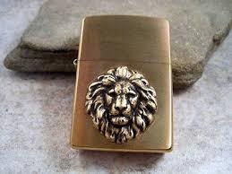 urban lion ring holder images Handmade brushed gold oxidized brass lion head cigarette lighter jpeg