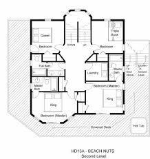 house plan plans with open floor design bedroom home two modern