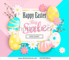 easter eggs sale geometric easter eggs free vector stock graphics