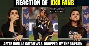Rcb Memes - turning point of the match kkr vs rcb ipl 2016 crickettrolls com