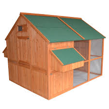 pawhut extra large backyard chicken coop walmart com