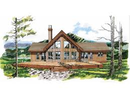 aframe house plans eplans a frame house plan spectacular view 1659 square