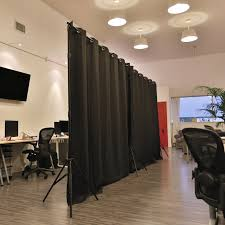 Room Dividers Now by Roomdividersnow Premium Heavyweight Freestanding Room Divider Kit