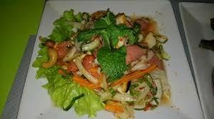 mali cuisine salade de surimi et saucisse sauce picture of mali cuisine