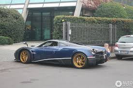 pagani factory tour blue huayra spotted at the factory