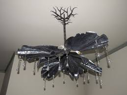 Forged Chandeliers Handmade Chandelier Forged Steel Iris Form By Colin Mcintyre