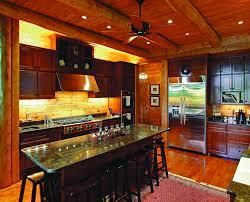 6 inspirational log home kitchens