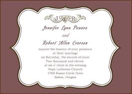 Personal Wedding Invitation Cards Wordings Wedding Invitation Verses U2013 Gangcraft Net