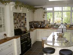 Kitchen Tall Cabinets Kitchen Style Elegant Farmhouse Style Kitchen Design Granite