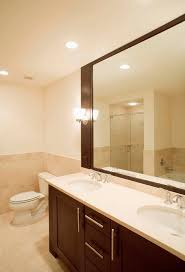 Flat Bathroom Mirror by How To Hang A Mirror On A Flat Wall Hunker