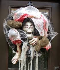 53 doors decorated for halloween extremely creepy nh home staging