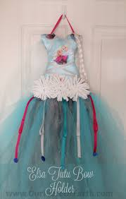 bow holder diy elsa tutu bow holder our of earthour of earth
