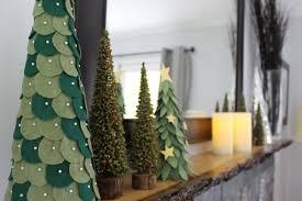 felt christmas tree diy christmas lights decoration