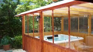 veranda chiusa idromassaggio nella tua veranda chiusa