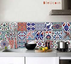kitchen portugal vintage tiles stickers set of 16 tile decals