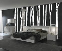 schlafzimmer schwarz wei wandgestaltung schwarz weiß schlafzimmer einrichten weiss schwarz