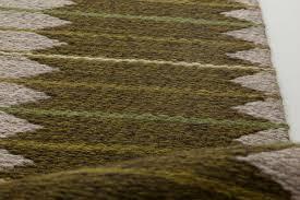 vintage swedish flat weave sided rug by ingrid dessau bb6414