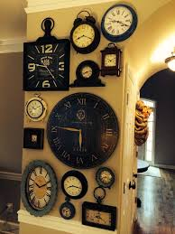 Unique Large Wall Clocks Best 25 Wall Clock Decor Ideas On Pinterest Large Clock Large