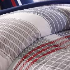 100 home design mini stripe down alternative queen comforter