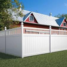front yard vinyl fence homestylediary com