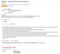 Can You Use The Shark Steam Mop On Laminate Floors Steam Mops Bissell U0027s Best Selling Powerfresh 64 Orig 100