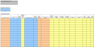 Sample Of Excel Spreadsheet Memorandum Template Ms Excel For Private Accredited