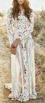 bohemian white lace wedding dress pictures photos and images for