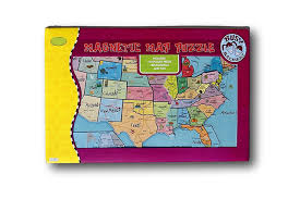Usa Puzzle Map by Magnetic Puzzle Map Usa United States U2022 12 15 Picclick