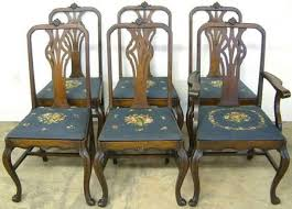 Antique Dining Room Table And Chairs Antique Dining Room Furniture At Antique Furniture Us