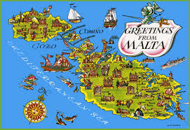 Worlds Of Fun Map by Malta Tourist Map