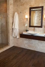 unique bathroom wood floor tiles also small home interior ideas