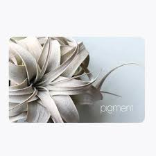 sending gift cards online buy gift cards online or send by mail pigment san diego